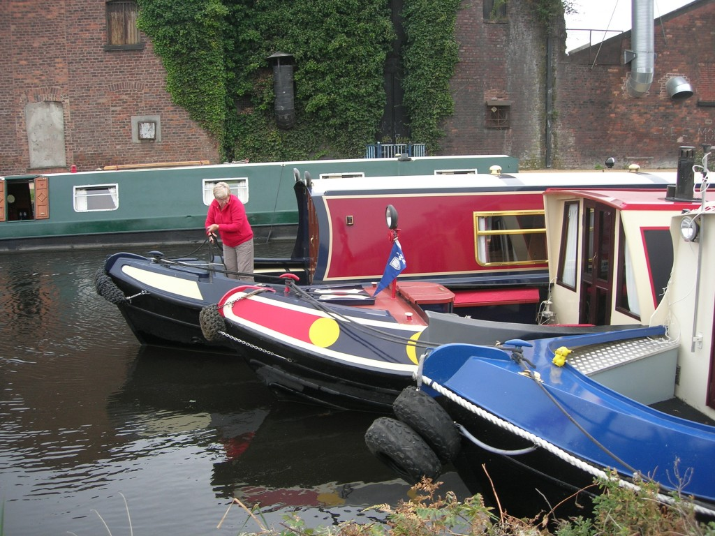 more barges mooring at Bank Hall Marina