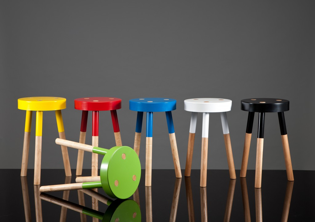 Y Stools by Tim Webber at Seventhirty am