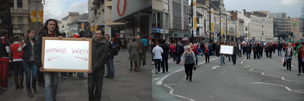 Spazi Docili - Crowd-Behaviours-Patterns [Cardiff, 2012] 1