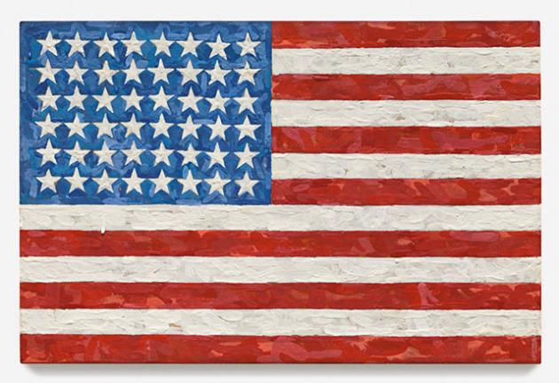 Jasper Johns, Flag, 1983