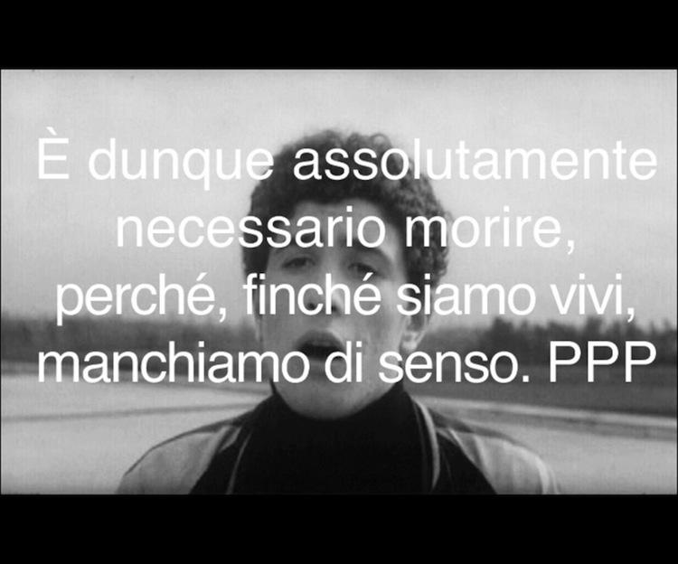 Le Ceneri di Pasolini