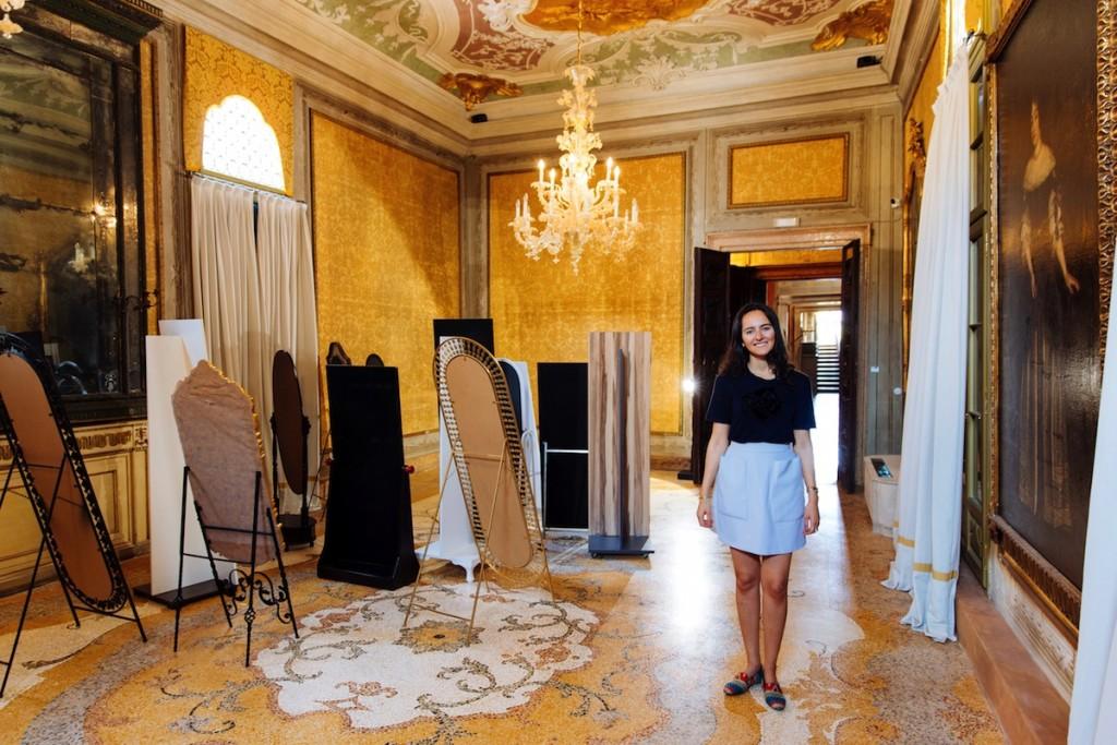 Suad Garayeva at Palazzo Barbaro