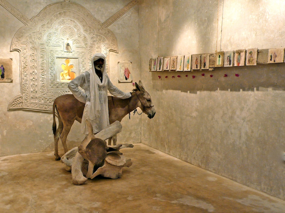 "Impressions of Lamu"",with Famous Lee and Donkey,        Baitil Aman, Lamu/Kenia 2012"