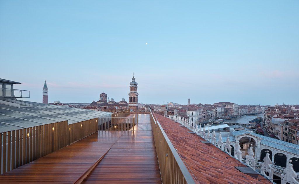 Fondaco dei Tedeschi, the terrace