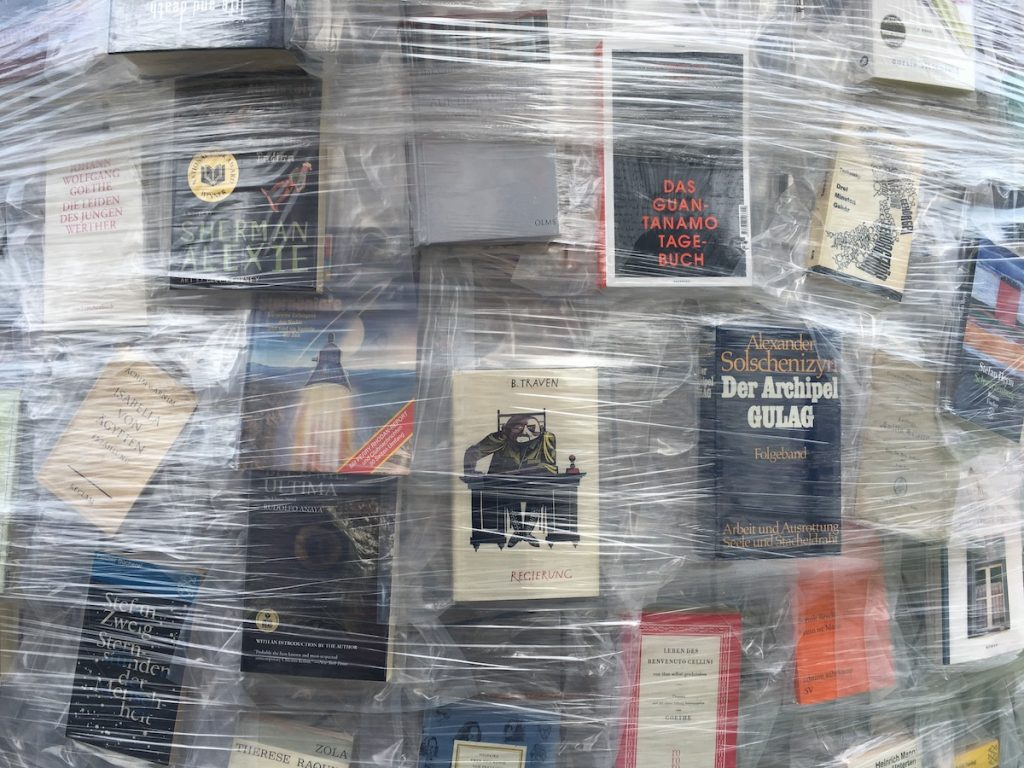 The Parthenon of Books at Documenta 14, Kassel
