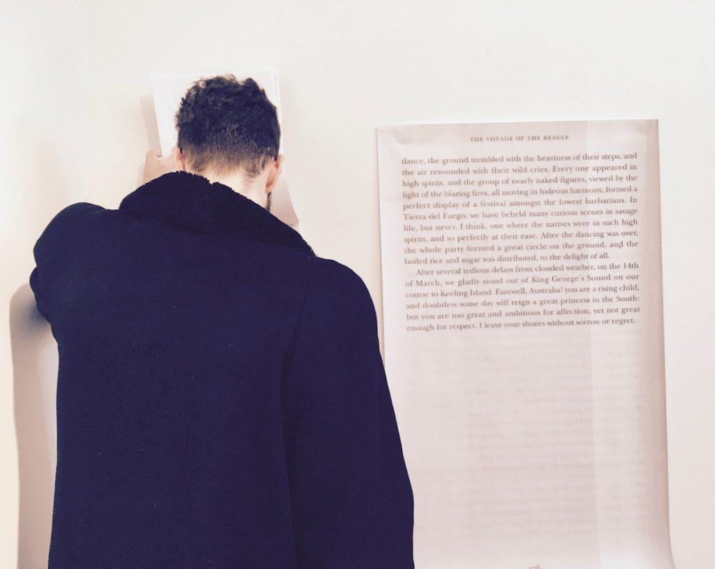Camillo Godoy at ISCP NY, detail