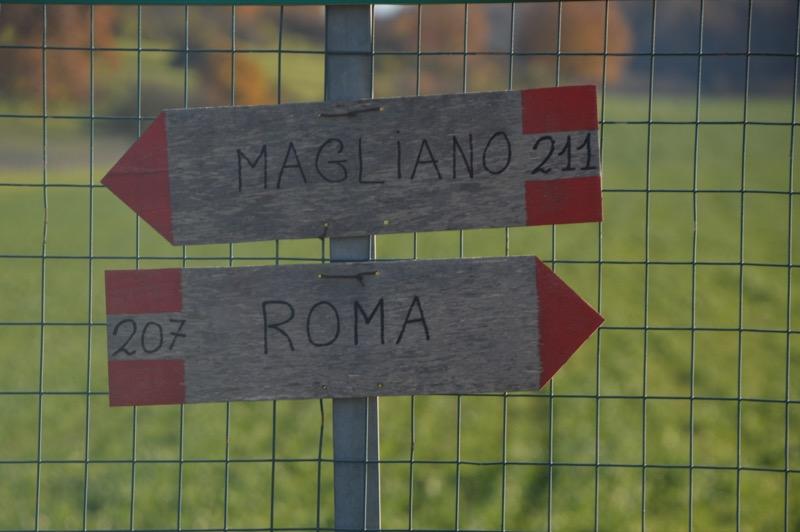 Via Francigena by Gabriele Simonini
