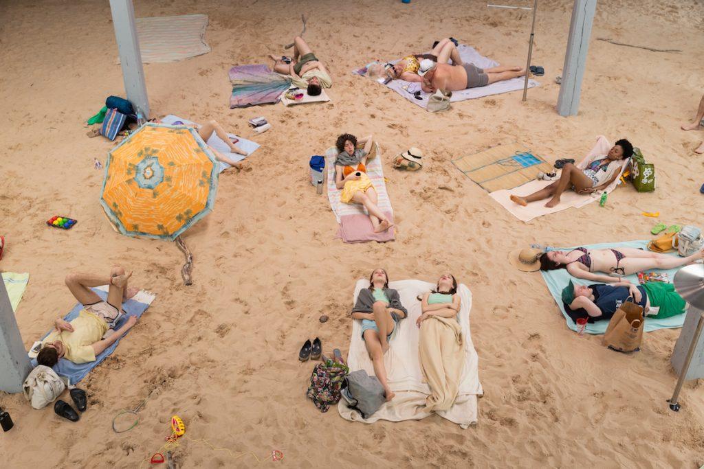 Sun&Sea (Marina), opera-performance by Rugile Barzdziukaite, Vaiva Grainyte, Lina Lapelyte at Biennale Arte 2019, Venice © Andrej Vasilenko