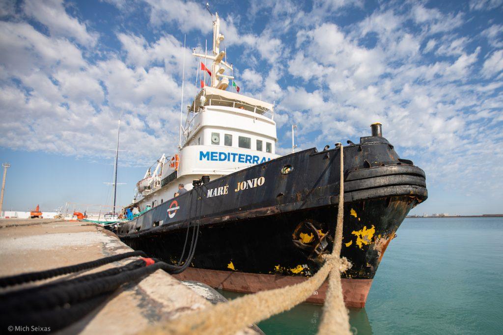 Mediterranea Boat in Tunisia