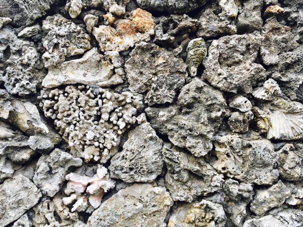 Balinese coral walls