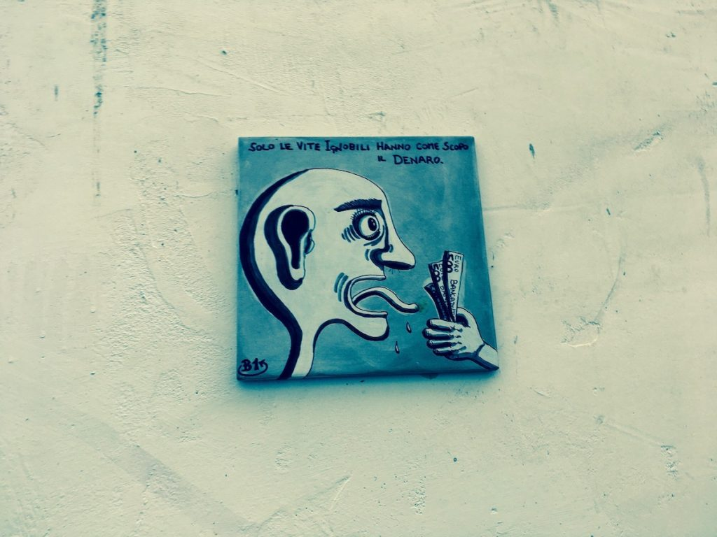 mattonella vista a Ballarò, Palermo
