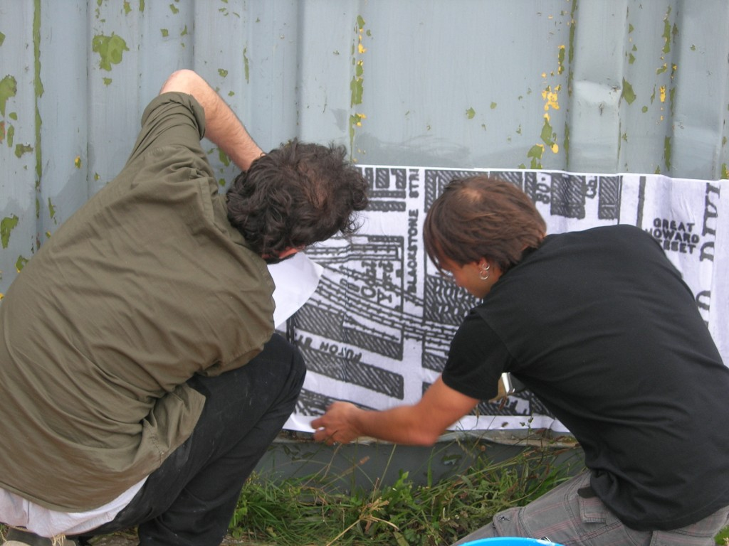 Danilo Capasso (right) setting Portoallegro