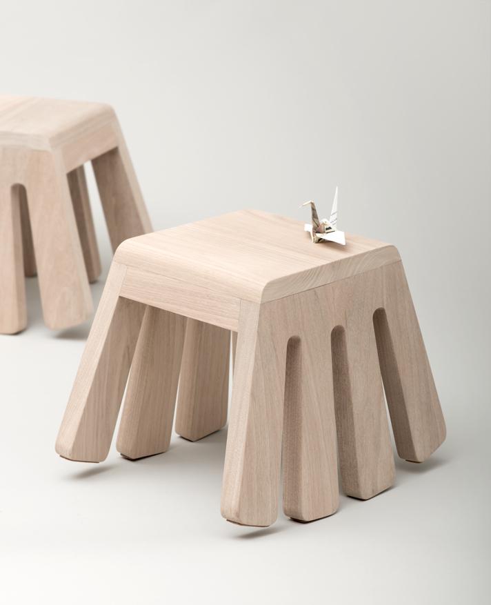 Itty Bitty, rocking stool