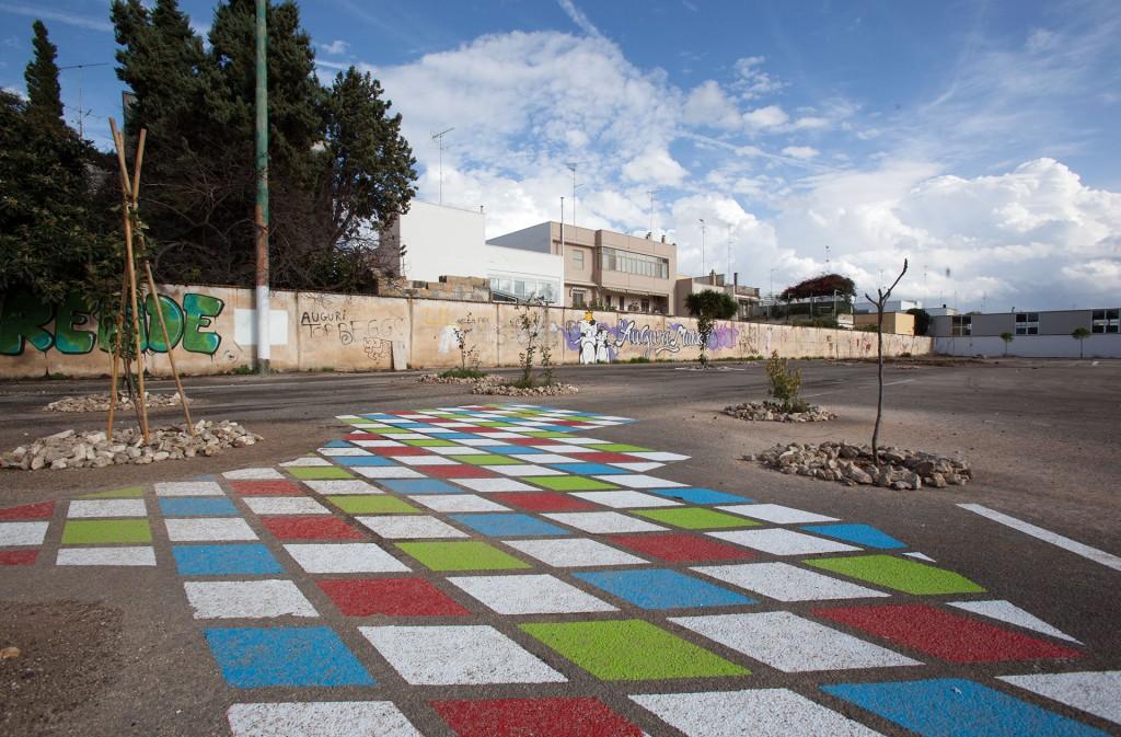 Asfalto Mon Amour, 2013-2014, Lecce