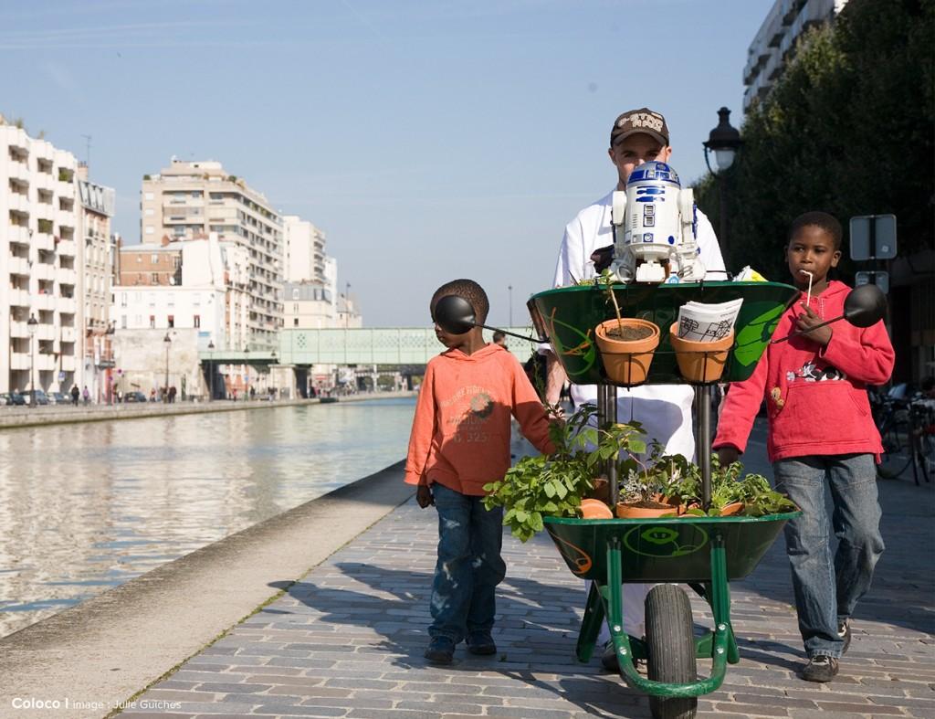 Le jardins du Centquatre, Paris, 2007-2009