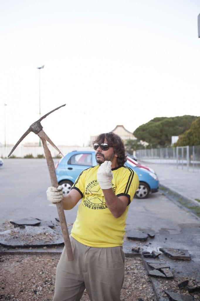 Pablo Georgieff gardening