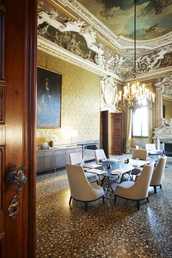 Aman Canal Grande Venice - Yellow Dining Room-lpr