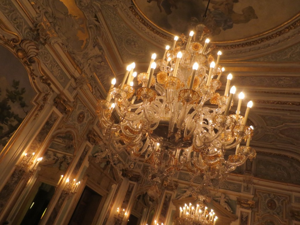 the piano nobile ceiling