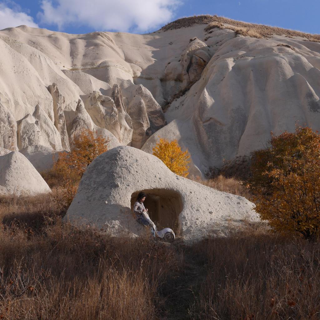 Travelling Into Your Bookshelf, Cappadocia, 2015