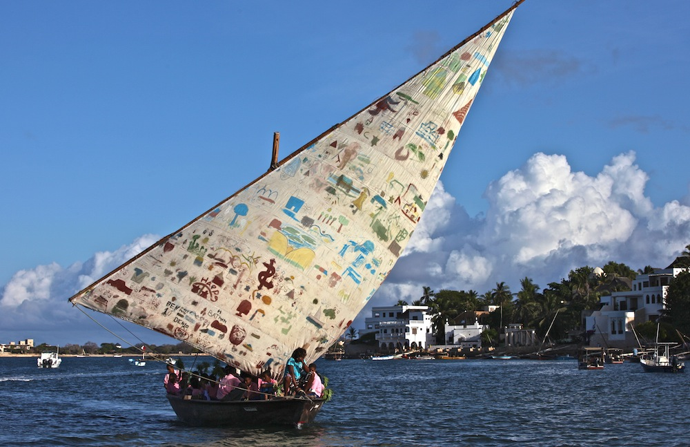 Action Painting - Lamu-Kenia 2012