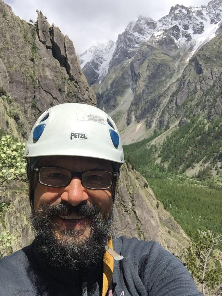 Guido Ciceri on the mountains