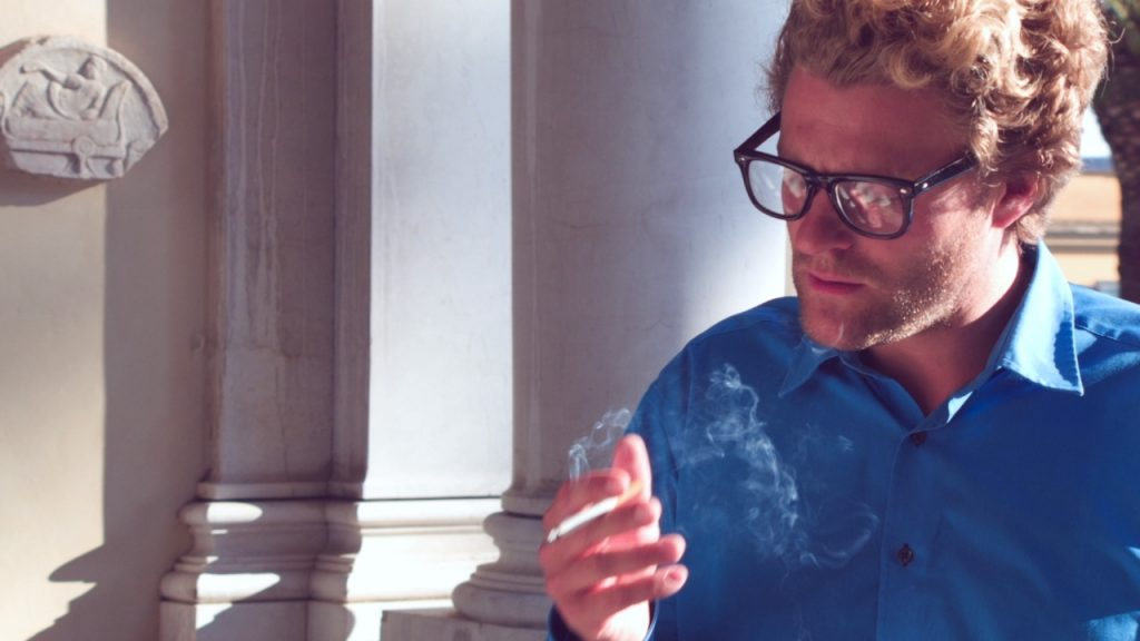 Florian Graf in one of his video stills
