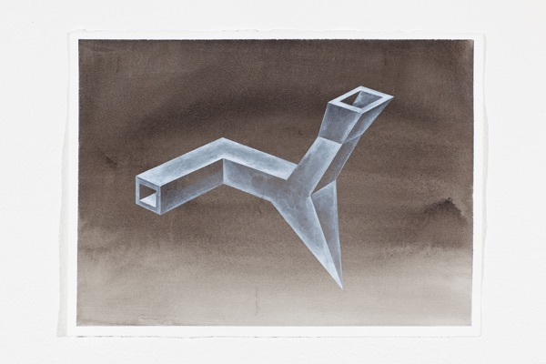 Insight Outside, drawing series by Florian Graf