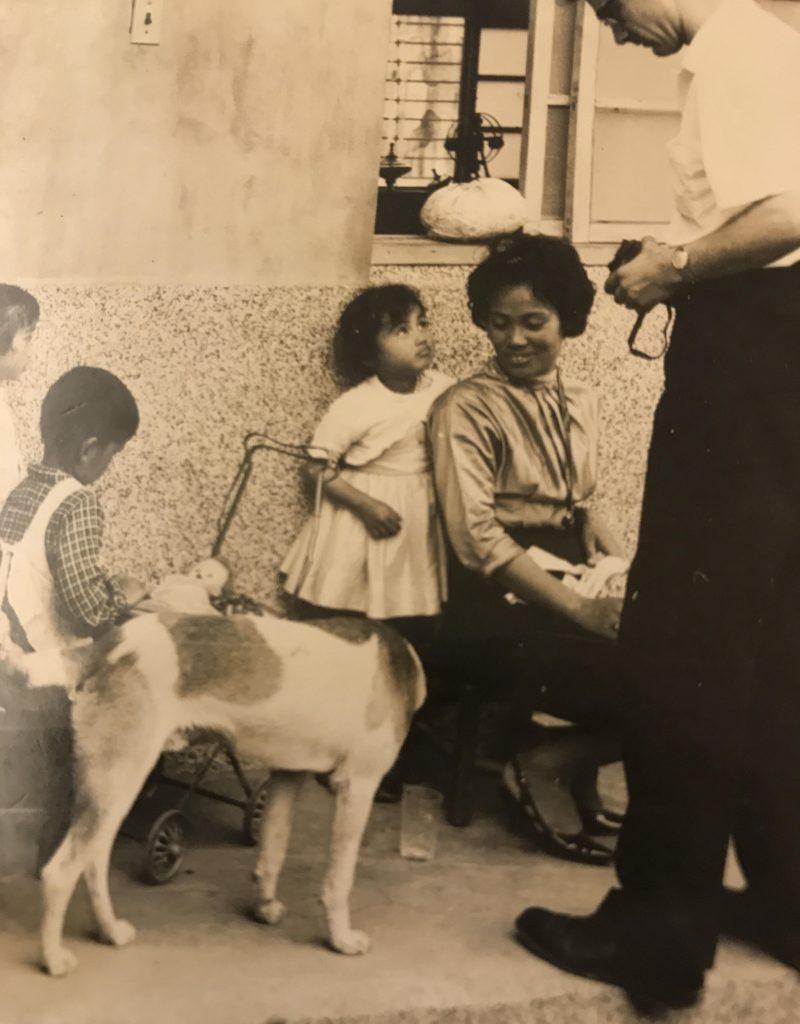 Jean Huang at 4