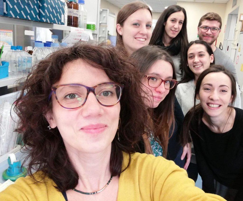 Antonella Teramo and her team