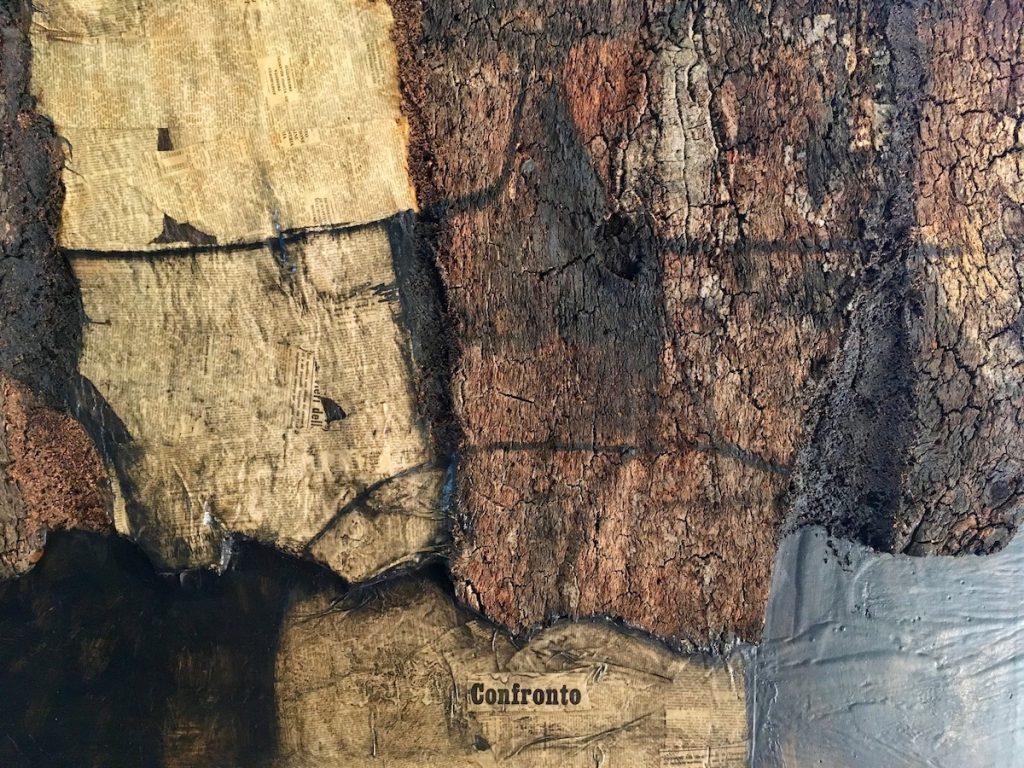 Roberto Crippa, Sughero - detail