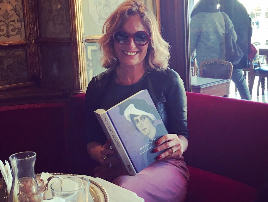 Roberta Denti al Caffè Florian, Venezia