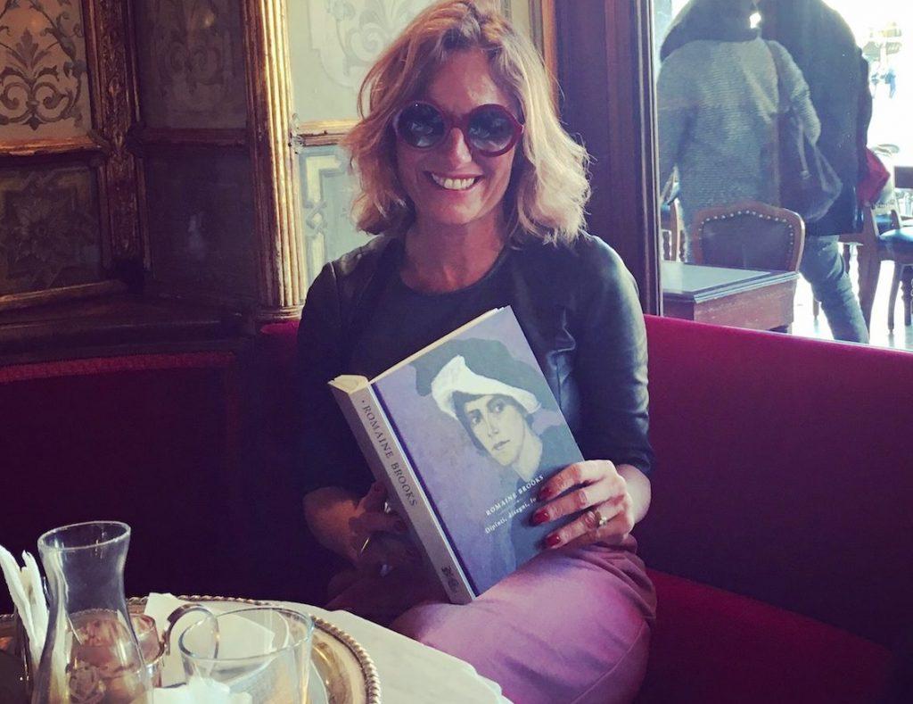 Roberta Denti at Caffè Florian, Venice