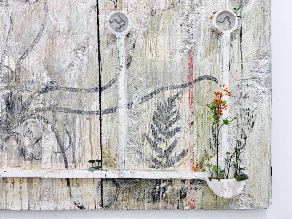 Veit Laurent Kurtz, Pompeii Walls (detail)